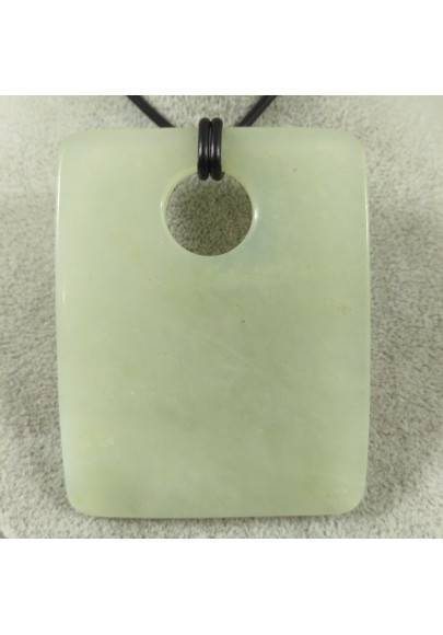 Pendant Gemstone in JADE BIG Necklace Charms Etnico Chain Crystal Healing-1