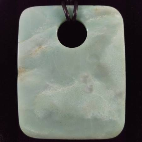 JADE Sky Blue Pendant Gemstone - TAURUS ARIES LIBRA Necklace Charm Charm-1