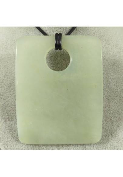 JADE BIG Pendant Gemstone -LIBRA TAURUS ARIES Necklace Crystal Healing Charm-1