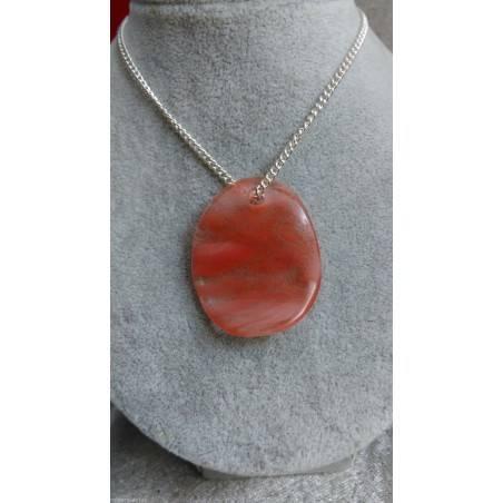 Rose Quartz Pendant Leaf - LIBRA TAURUS CAPRICORN Crystal Healing-1