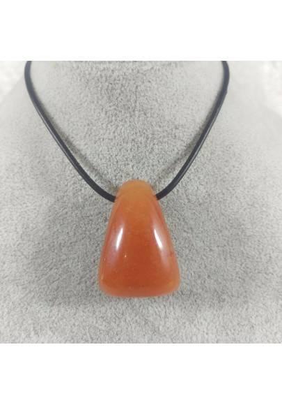 Red AVENTURINE Pendant Bead - ARIES LIBRA Charm Charm Necklace Zen-1