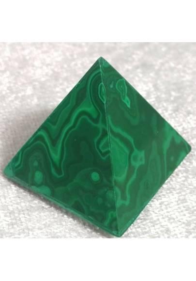 MALACHITE PYRAMID from Congo MID Size MINERALS Chakra Crystal Healing Reiki A+-1