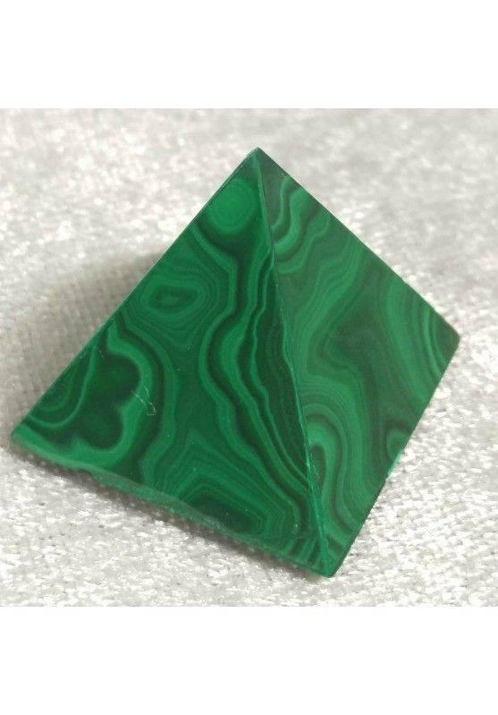 MALACHITE PYRAMID from Congo MID Size MINERALS Chakra Crystal Healing Reiki A+-2
