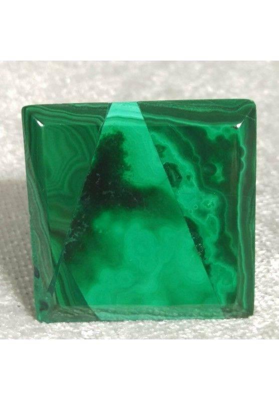 Piramide in MALACHITE del Congo MEDIA Minerali Chakra Cristalloterapia Reiki A+-5