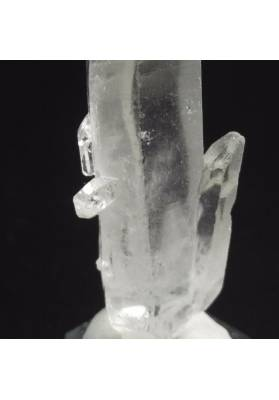 MINERALS *Double Terminated Clear Quartz Crystal Rough Natural 22.5g-2