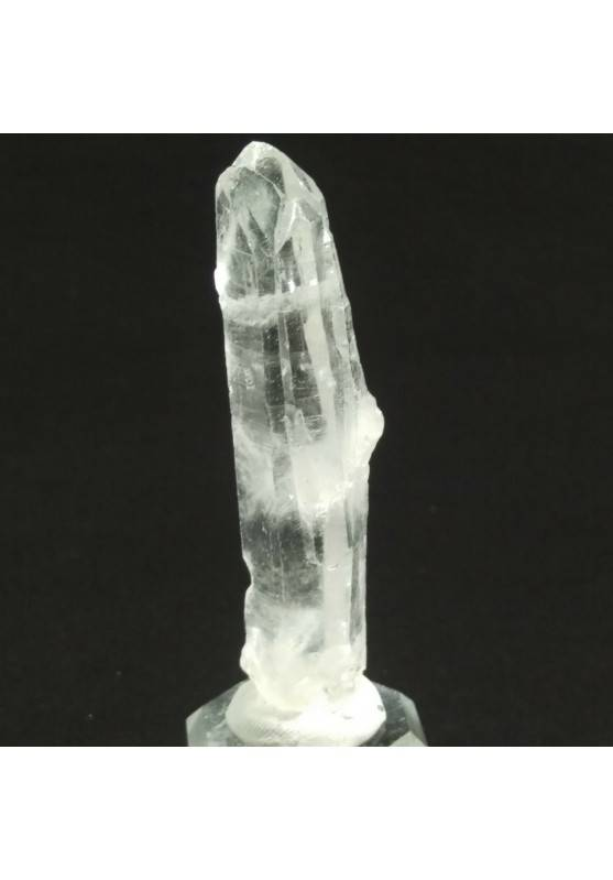 MINERALS *Double Terminated Clear QUARZ Rough Crystal Healing 26.4g-1