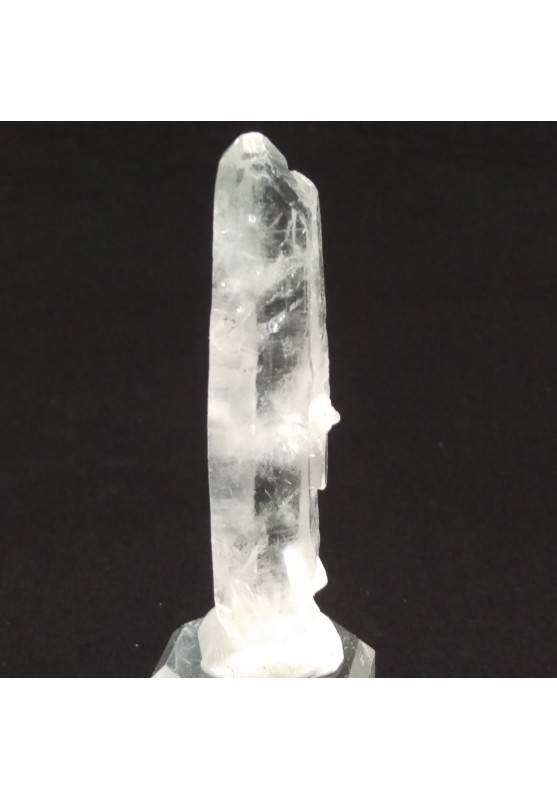 MINERALS *Double Terminated Clear QUARZ Rough Crystal Healing 26.4g-4