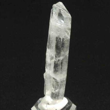 MINERALS *Double Terminated Clear QUARZ Rough Crystal Healing 23.0g-2