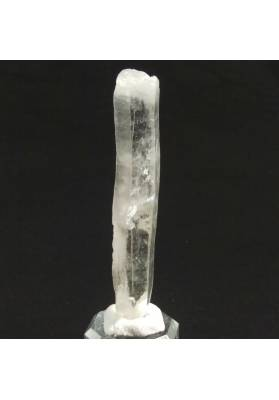 MINERALS *Double Terminated Clear QUARZ Rough Crystal Healing 30.4g-1