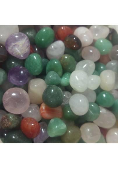 Mixed Mini Tumbled Stones 100gr Crystal Chakra MINERALS Crystal Healing-1