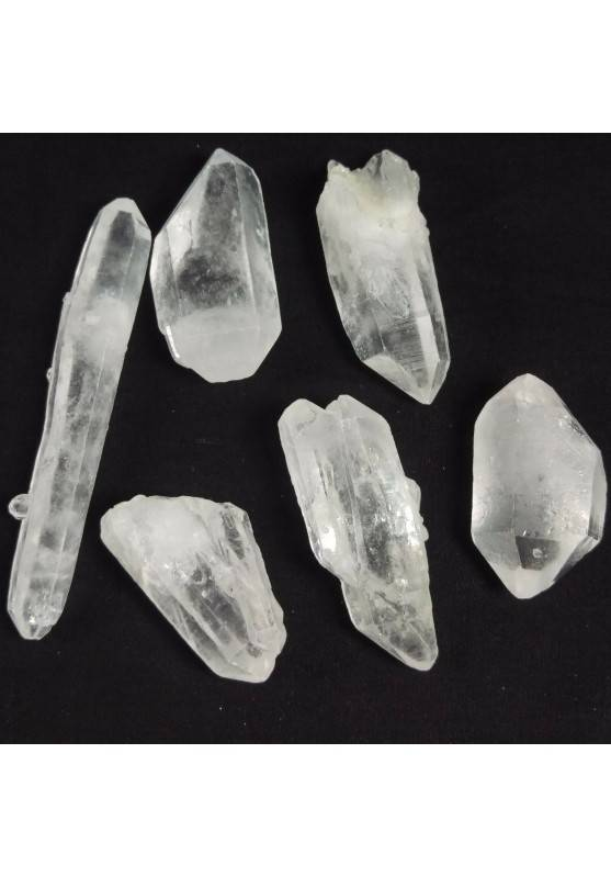 Double Terminated Clear QUARTZ Crystal A+ Reiki [Pay Only One Shipment-1