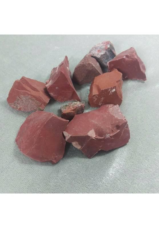 Diaspro Rosso Grezzo MEDIO Cristallo Cristalloterapia Minerali Gemma Quarzo A+-1