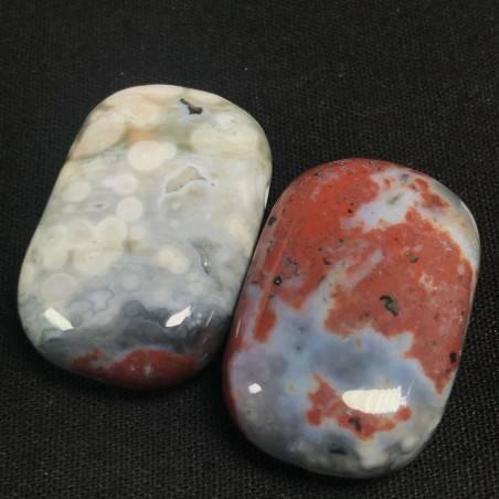 Pendant Gemstone in Orbicular Ocean JASPER Purple Rarissimo Gift Idea Jewel A+-5