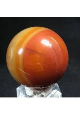 MINERALS * Wonderful Carnelian AGATE Sphere Crystal Crystal Healing-4