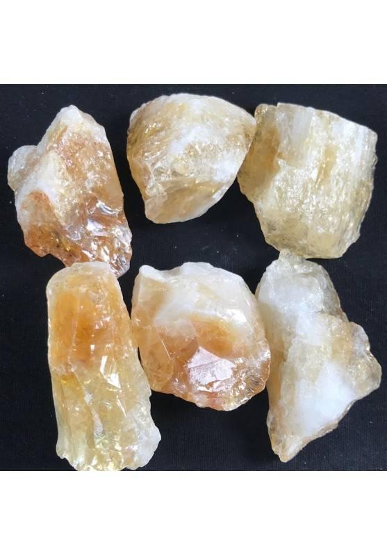 CITRINE Quartz Rough Crystal MINERALS Crystal Healing 3° Chakra A+ 35-45g−3