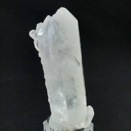 MINERALS *Double Terminated Clear QUARZ Rough Crystal Healing Reiki A+ 66g-2