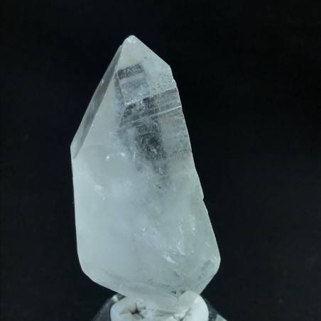 MINERALS *Double Terminated Clear QUARZ Rough Crystal Healing Reiki A+ 62g−3