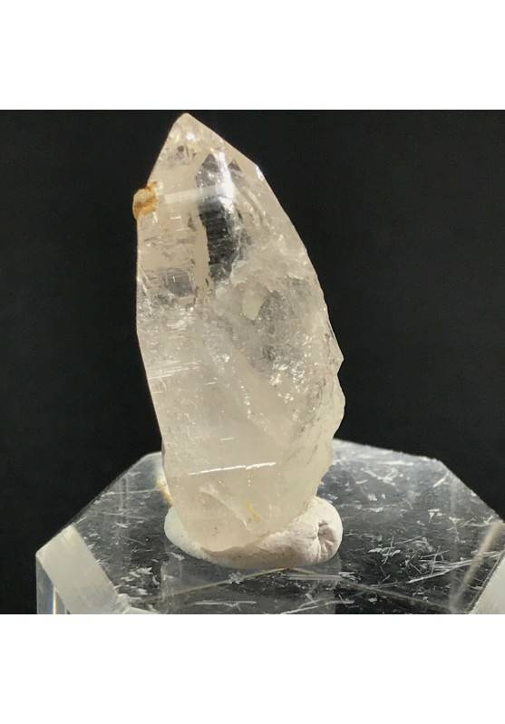 EXTRA Pure Rough KUNZITE Point RARE Piece Crystal MINERALS Crystal Healing 4.6g−3