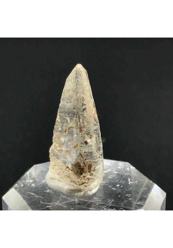 PUNTA di KUNZITE GREZZA PURISSIMA Cristallo Minerale Zen Cristalloterapia 2.9g-1