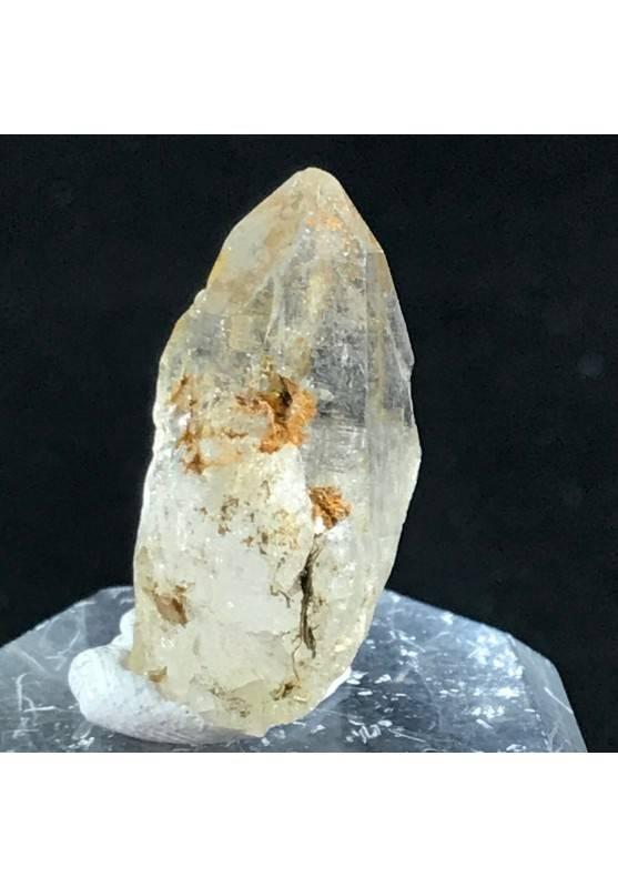 PUNTA di KUNZITE GREZZA PURISSIMA Cristallo Minerale Zen Cristalloterapia 3.7g-2