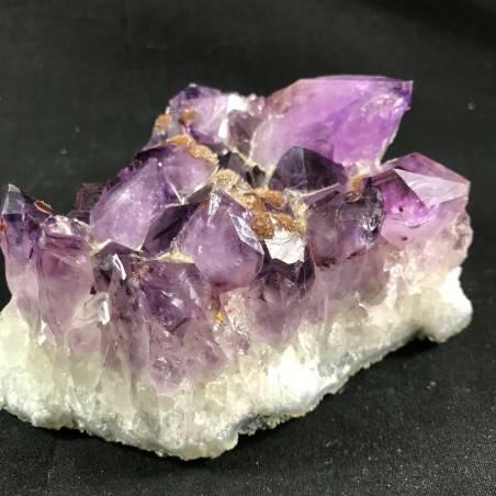 MINERALS * Dark AMETHYST Quartz Crystal Cluster URUGUAY 792g Crystal Therapy A+-4