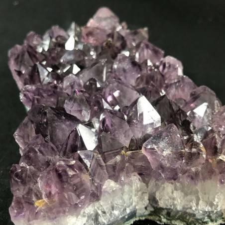 MINERALS * Dark AMETHYST Quartz Crystal Cluster URUGUAY 896g High Quality A+ Crystals-5