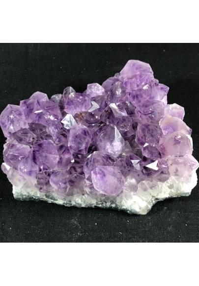 MINERALS * Dark AMETHYST Quartz Crystal Cluster URUGUAY 613g High Quality A+ Crystals-1
