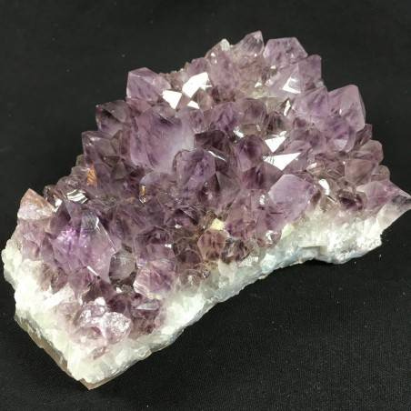 MINERALS * Dark AMETHYST Quartz Crystal Cluster URUGUAY 758g High Quality A+ Crystals-1