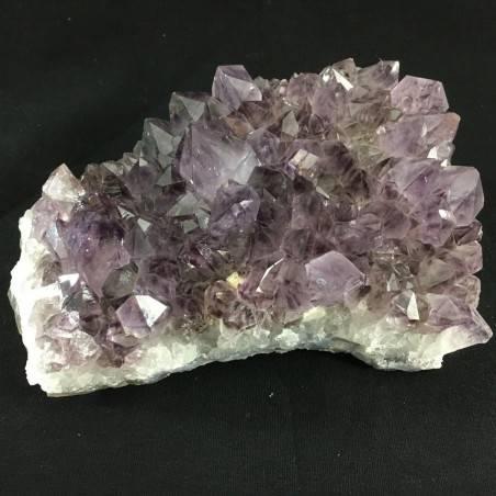 MINERALS * Dark AMETHYST Quartz Crystal Cluster URUGUAY 758g High Quality A+ Crystals-2