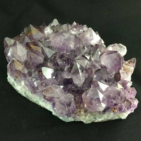 MINERALS * AMETHYST Druzy Cluster Crystal URUGUAY Very High Quality! 925g-4