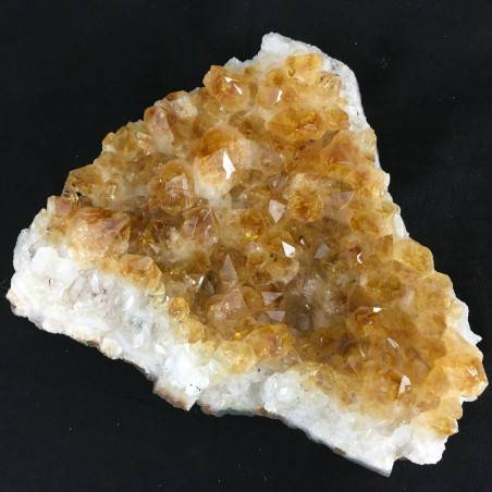 Druzy CITRINE Quartz High Quality MINERALS Crystals Point Chakra Geode 753g-1