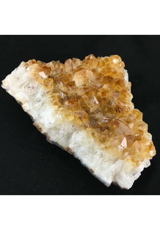Druzy CITRINE Quartz High Quality MINERALS Crystals Point Chakra Geode 753g-2