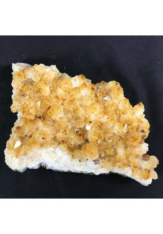 Druzy CITRINE Quartz Very High Quality MINERALS Crystals Point Chakra Geode!-4