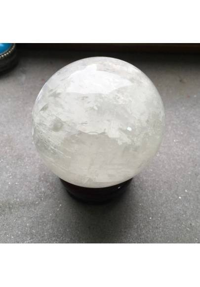 MINERALS * Wonderful ELLIPSE SPHERE in CALCITE Crystal Healing Very High Quality A+-1
