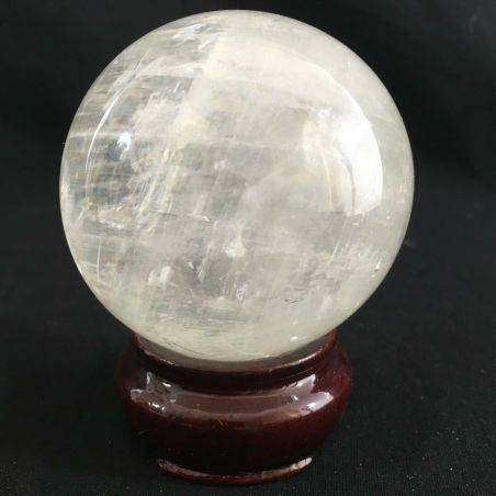 MINERALS * Wonderful CALCITE SPHERE Crystal Healing - Very High Quality A+-1