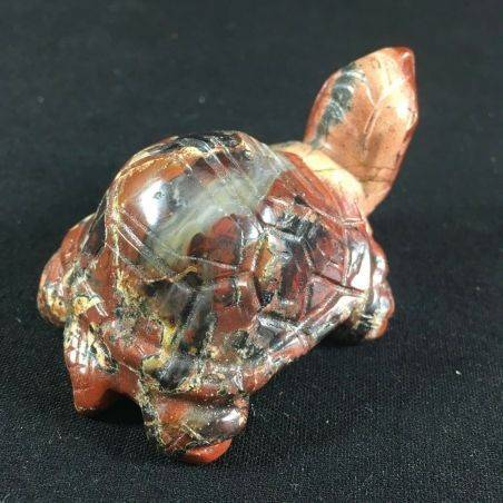 BIG Turtle in JASPER Brecciato Minerals ANIMALS MINERALS A+ Casa Reiki−3