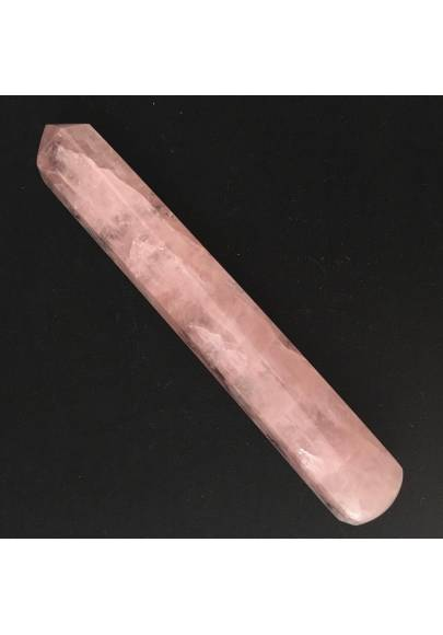 Massage Stone in Rose Quartz Crystal Healing Zen MINERALS High Quality - Chakra-1