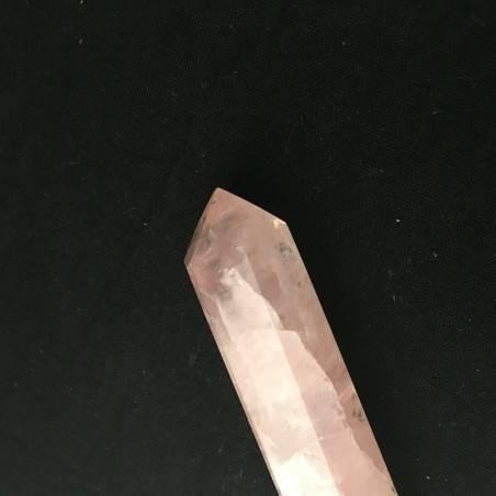 Massaggiatore in QUARZO Rosa Cristalloterapia Zen Minerali Alta Qualità - Chakra-2