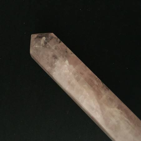 Massage Stone in Rose Quartz a Point Crystal Healing Zen MINERALS Chakra A+-1