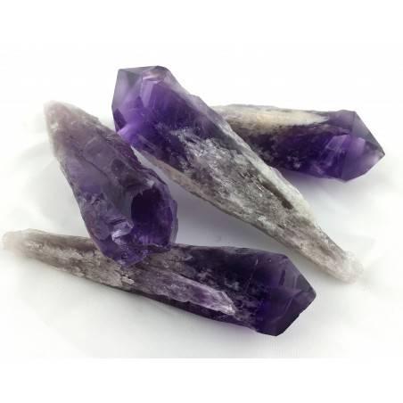 Wonderful AMETHYST Point from Uruguay Rough Crystal Healing BIG SIZE-2