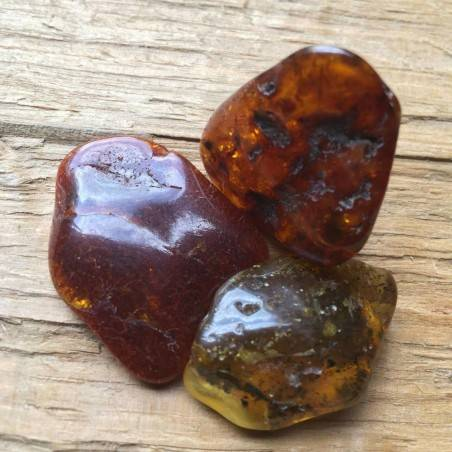LARGE Chiapas Red AMBER MEXICO Tumbled Stone MINERALS Healing Crystal-1