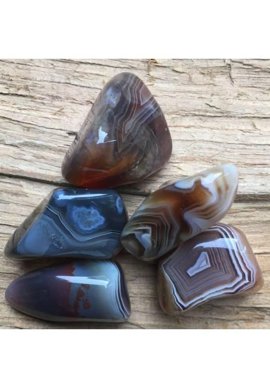 Botswana AGATE Tumbled Stone Gemstones Crystal Healing MINERALS High Quality Chakra Reiki A+-1