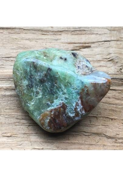 Green CHRYSOPRASE Tumbled Stone BIG Western Australia Crystal Healing Quality A+-1