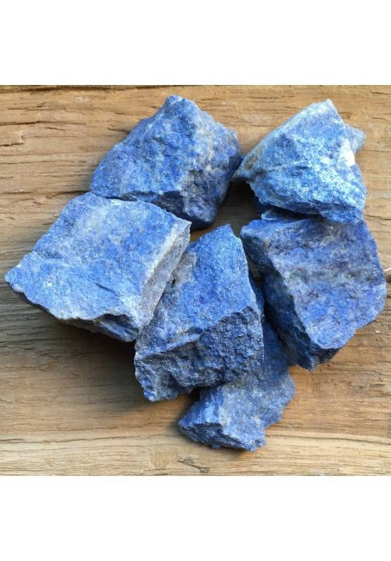 Rough DUMORTIERITE Quartz Angelite Crystal Healing A+ [ Rough Dumortierite Rough Stones-2