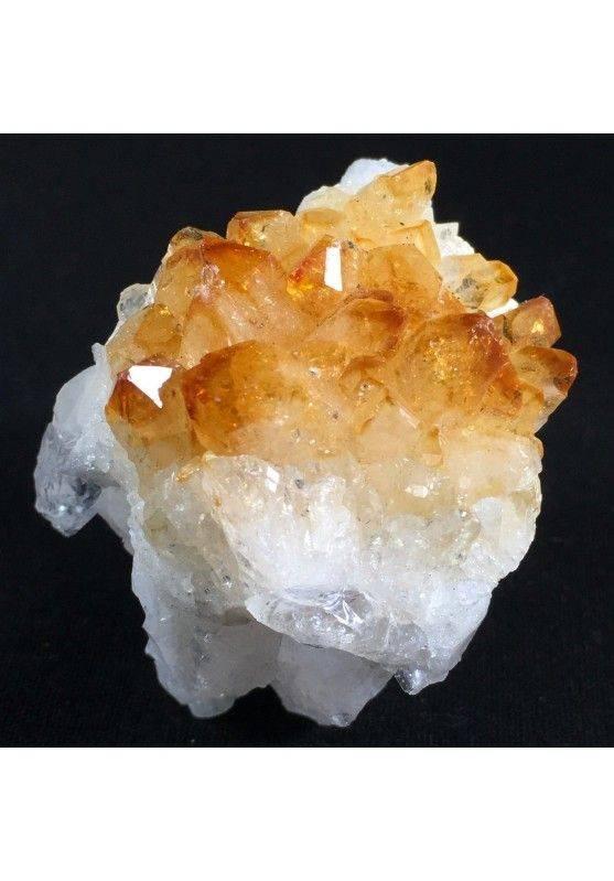 Rough CITRINE QUARTZ Druzy MINERALS Crystals Point Chakra Reiki Geode A+-1