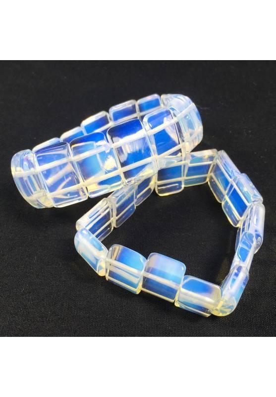 Bracciale in OPALE Opalite Minerali Braccialetto Cristalloterapia Chakra A+-3