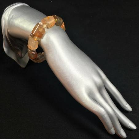 CARNELIAN AGATE Bracelet MINERALS Crystal Healing Chakra Zen A+-1