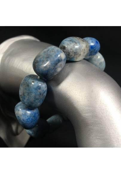Tumbled LAPIS LAZULI Precious Bracelet Crystal Healing Quality Zen A+-1