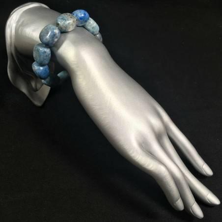 Tumbled LAPIS LAZULI Precious Bracelet Crystal Healing Quality Zen A+-2