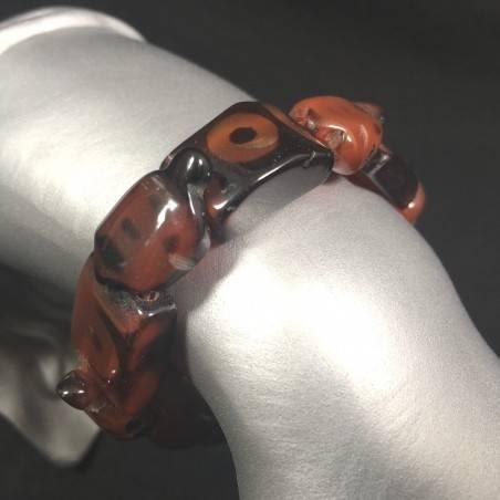 Special Bracelet in CARNELIAN Turtles - LEO CANCER TAURUS Zen A+-1